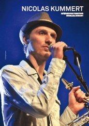 Nicolas Kummert - Jazz in Belgium