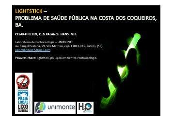 Laboratório de Ecotoxicologia – UNIMONTE Av ... - Global Garbage