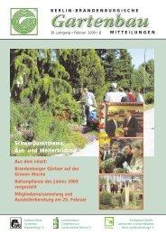 Schwerpunktthema - Landesverband Gartenbau Brandenburg e.V.