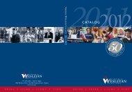 2011-2012 Catalog - Virginia Wesleyan College