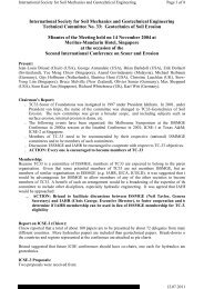 Minutes of the TC-33 meeting - Singapore Nov 14, 2004 - Scour and ...