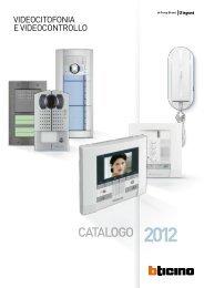 Catalogo Videocitofonia - Professionisti BTicino