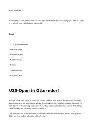 Newsletter 21 - Niedersächsische Schachjugend
