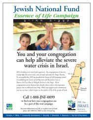 Essence of Life 1pg 9.02 - Jewish National Fund