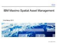 IBM Maximo Spatial Asset Management - Esri Portugal