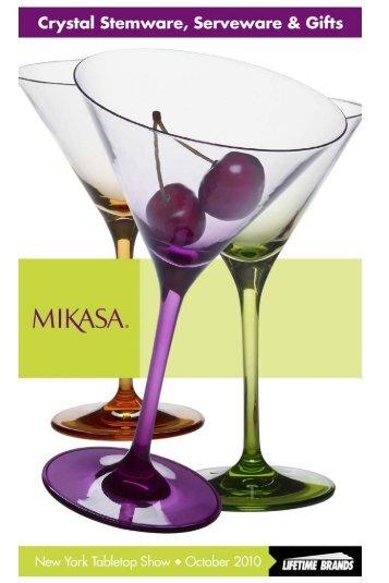"Mikasa® ""Cheers"" - Lifetime Brands"