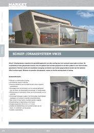 ScHuif-/DraaiSySteem VW25 - Market