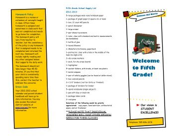 5th Grade brochure.pub (Read-Only) - Colinas del Norte Elementary