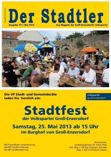 Stadtfest - Der Stadtler