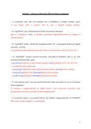 Kérdések - válaszok az elektronikus FMH xml fájljára vonatkozóan