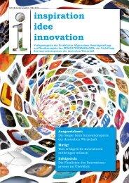 inspiration idee innovation - Innovationspreis der deutschen Wirtschaft