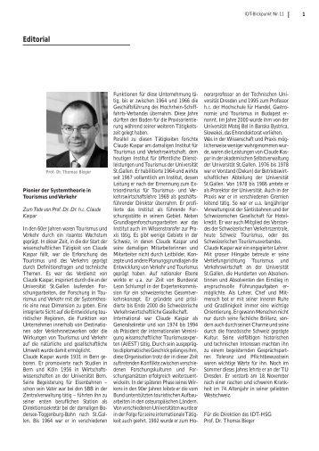 Ausgabe Nr. 11: Dezember 2004 - am Institut für Systemisches ...