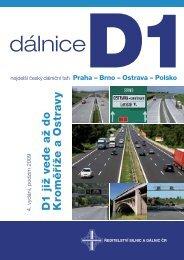 dálnice D1 - CeskeDalnice.cz