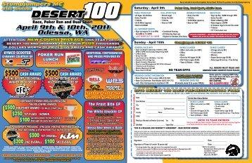 Desert 100 Flyer - Sport Ngin