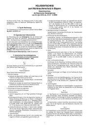 Bekanntmachung der Bayerischen Staatsregierung - Wahlen - Bayern