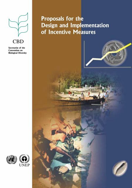 Proposals for the design and implementation of incentive measures