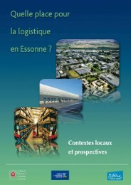 Schéma logistique - Agence pour l'économie en Essonne