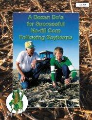A Dozen Do's for Successful No-till Corn - Purdue Extension ...