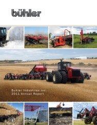Buhler industries inc. 2011 annual report
