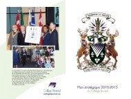 Plan stratégique 2010-2015 - Collège Boréal