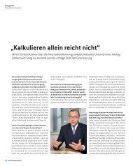 """""""Kalkulieren allein reicht nicht"""" - Deutsche Bank"""