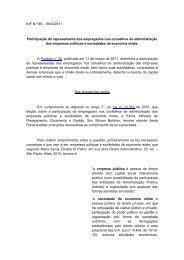 18/03/2011 Participação de representante dos ... - Fecomercio