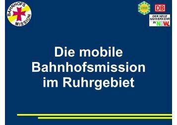 Mobile Bahnhofsmission - Service für Senioren - NRW