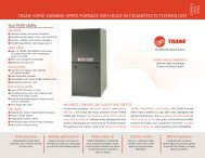 Trane XV90i Variable Speed - Two Stage Furnace