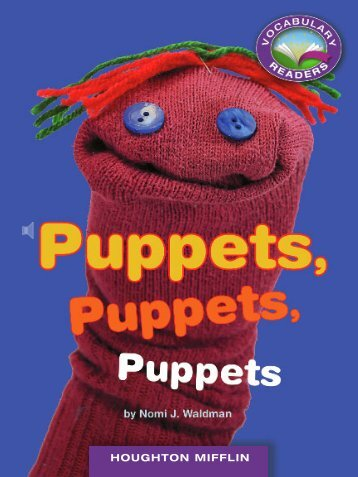 Lesson 9:Puppets, Puppets, Puppets