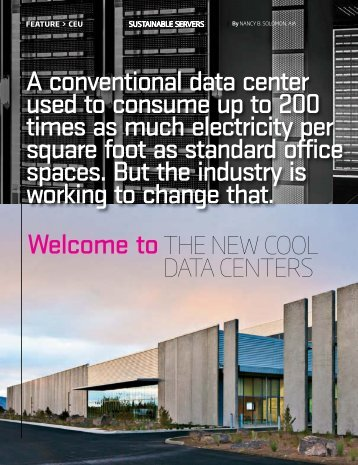 The New Cool Data Centers - American Business Media