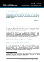 Corporate and Finance Knowledge Management ... - Cuatrecasas