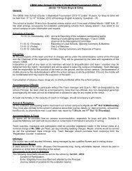 CBSE Inter School (Cluster I) Basketball Tournament 2012- 13 ...