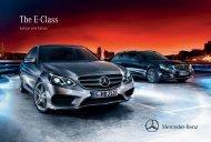 Download E-Class Saloon brochure (PDF) - Mercedes-Benz Ireland
