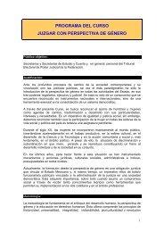 Temario y Materiales - Tribunal Electoral del Poder Judicial de la ...