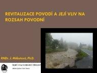 Revitalizace povodí a její vliv na povodně
