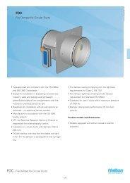 Fire Damper for Circular Ducts - Halton