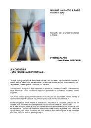 LE CORBUSIER Â« UNE PROMENADE PICTURALE - Canson Infinity