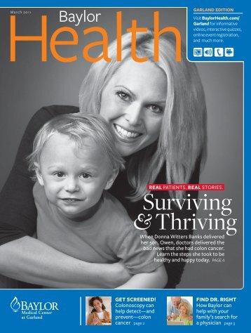 Garland - Baylor Online Newsroom - Baylor Health Care System