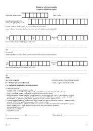Žádost o vyřazení vozidla z registru silničních vozidel