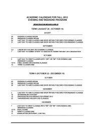 Microsoft Word FALL12.doc - Methodist University