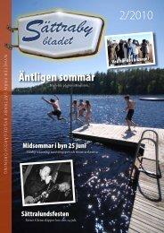 Sättrabybladet nr 2 år 2010 - Hyber
