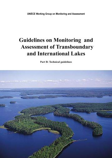 Guidelines on Monitoring and Assessment of ... - UNECE