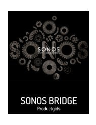 sonos bridge - Almando