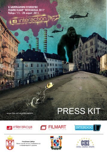 "PRESS KIT ""INTERakcija 2011"" - Filmart"
