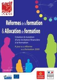 Réformes de la formation & Allocation de formation - Carif Oref Midi ...
