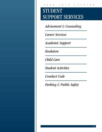 Student Support Services - St. Charles Community College