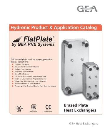 Hydronic Catalog January 2012