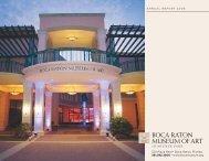 Download the 2007/2008 - Boca Raton Museum of Art