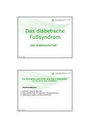 Vortrag Der Diabetische Fuß [Kompatibilitätsmodus]