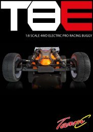 1:8 SCALE 4WD ELECTRIC PRO RACING BUGGY - Absima